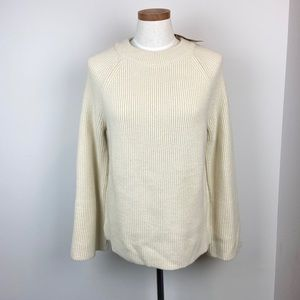 Knot Sisters Bell Sleeve Ribbed Sweater NWT